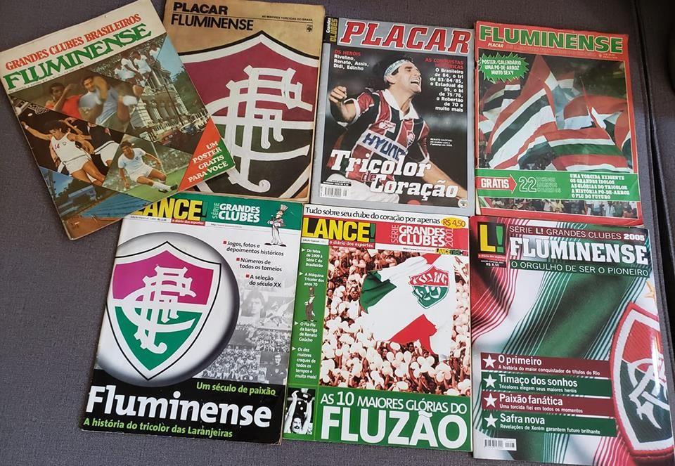 Revistas Especiais Dedicadas Ao Fluminense Entre 1972 E 2005 Em