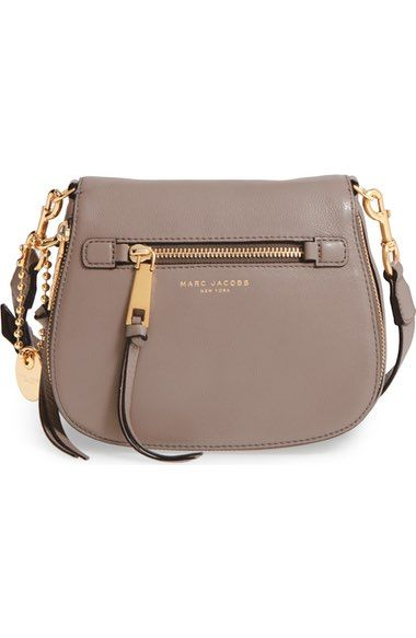d8cbd4c3b355 MARC JACOBS Small Recruit Nomad Pebbled Leather Crossbody Bag.  marcjacobs   bags  shoulder bags  leather  crossbody