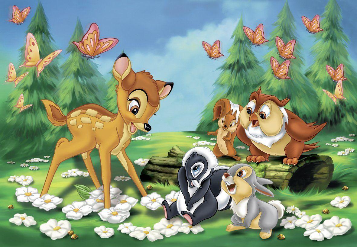 puzzle mein freund bambi  disney zeichnungen disney