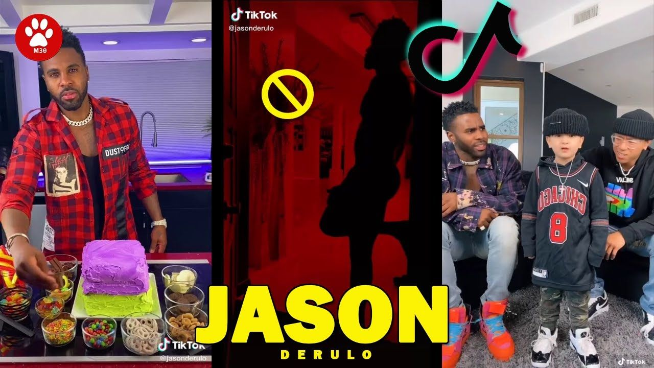 Jason Derulo Tiktok 2021 Funny Challenge Video Mar W P 1 In 2021 Jason Derulo Challenges Jason