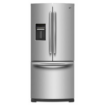 Maytag 196 Cu Ft French Door Stainless Steel Refrigerator