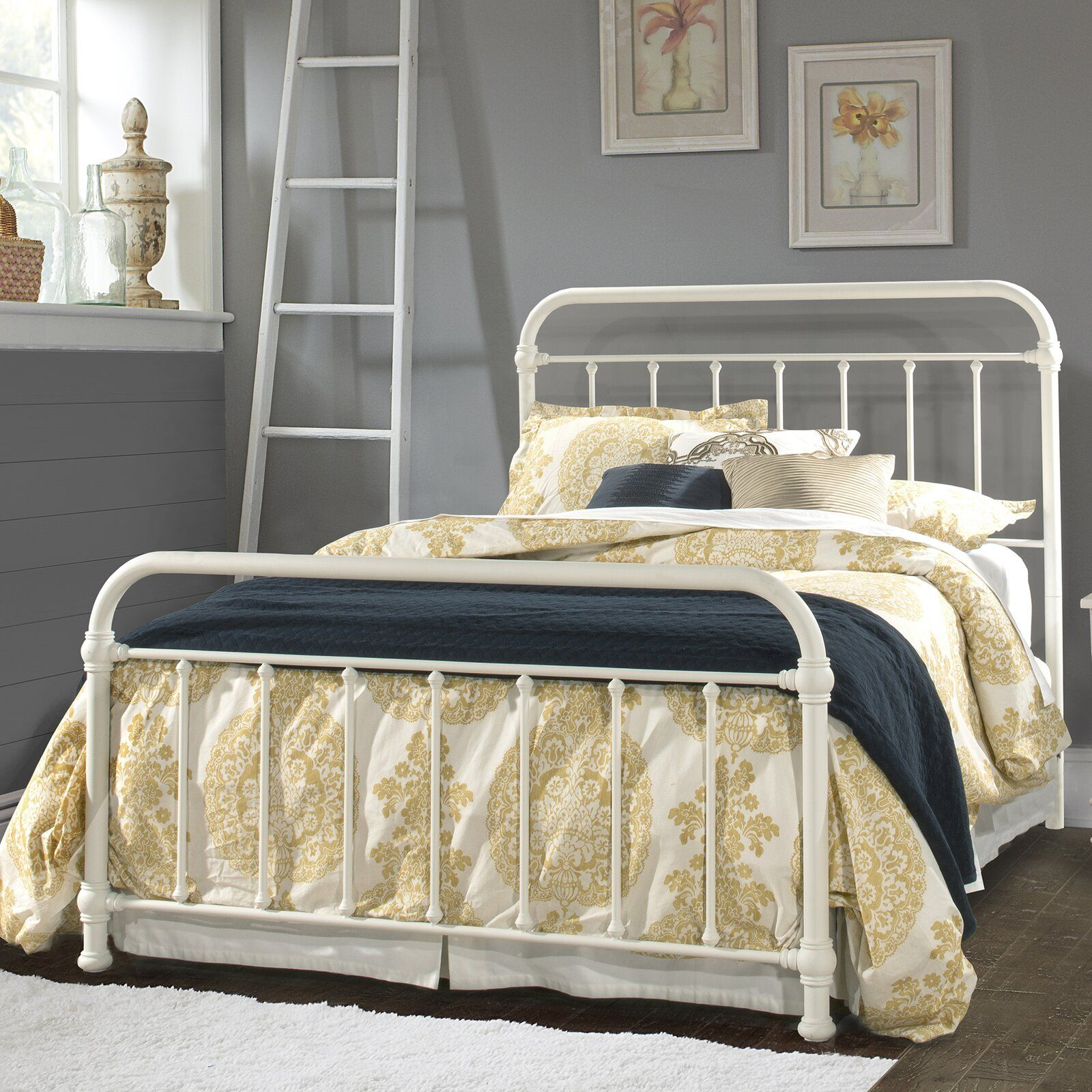 August Grove Ropesville Standard Bed Hillsdale furniture