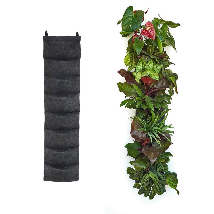 Amazing Florafelt 8 Pocket Vertical Garden Planter