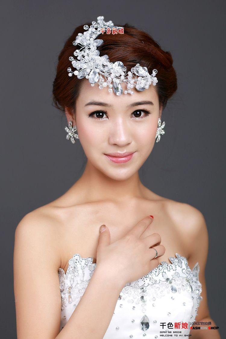 hot sale free shipping shining arabic bridal hair accessory hair