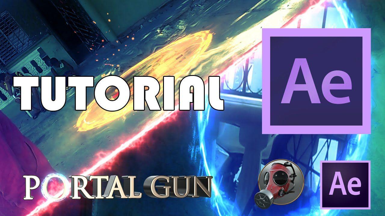Tutorial #7 - Como Hacer Efecto Portal Gun VFX (After
