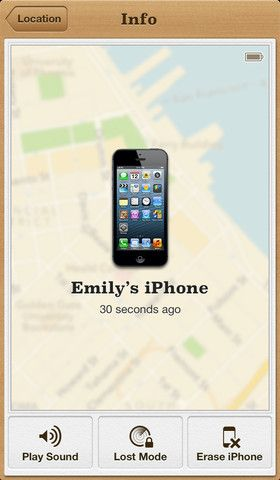 Find my iPhone If you misplace your iPhone, iPad, iPod