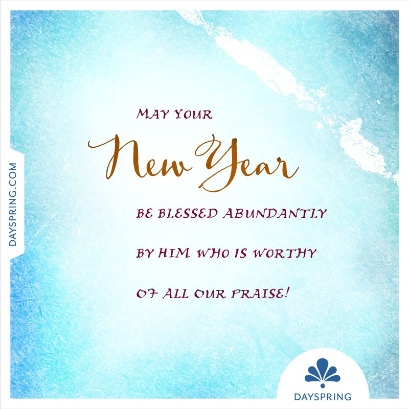 May your New Year be blessed