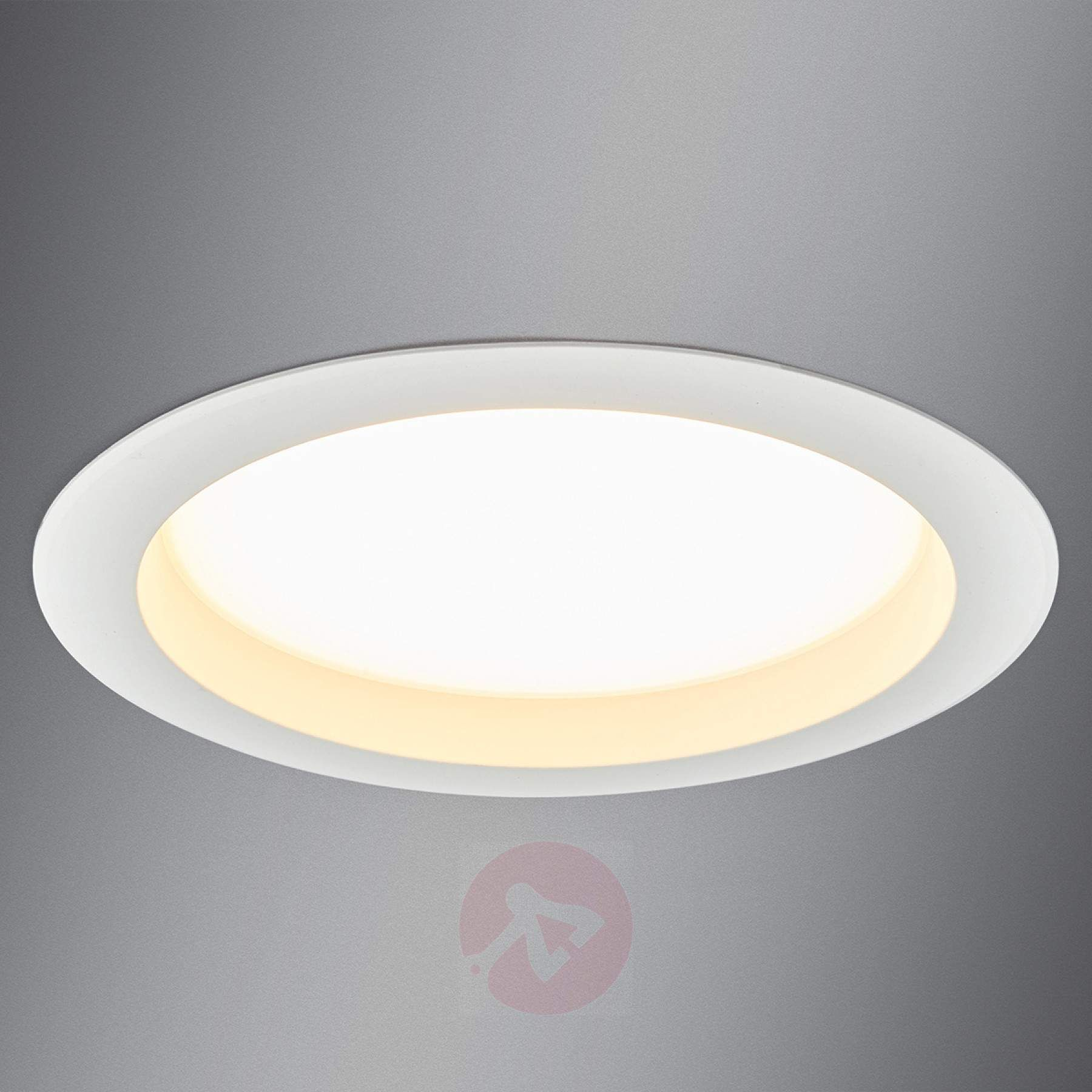 Large Led Recessed Spotlight Arian 24 4 Cm 22 5w Recessed