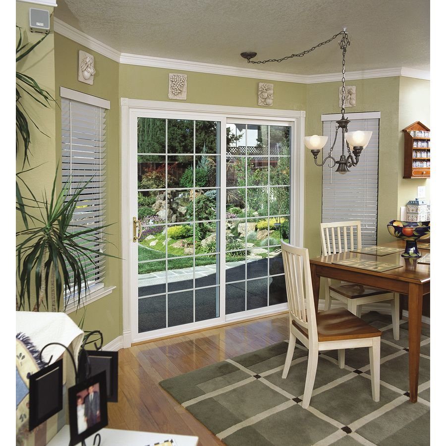 Exceptional Shop ThermaStar By Pella 10 Series 70.75 In Grilles Between The Glass White  Vinyl Sliding · Sliding Patio DoorsWhite ...