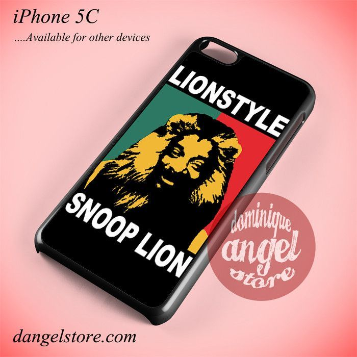 Snoop Dogg Lion Phone Case for iPhone 5C and Another iPhone Devices
