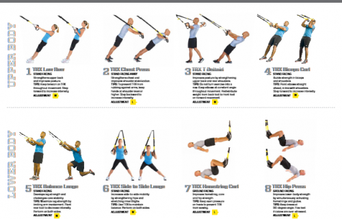 graphic about Printable Trx Workout identified as Printable TRX Work out Fresh new In opposition to TRX: The ideal visible