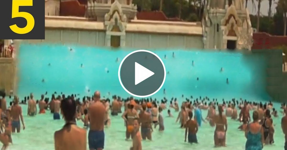 Top 5 Largest Artificial Waves Scary Wavepools