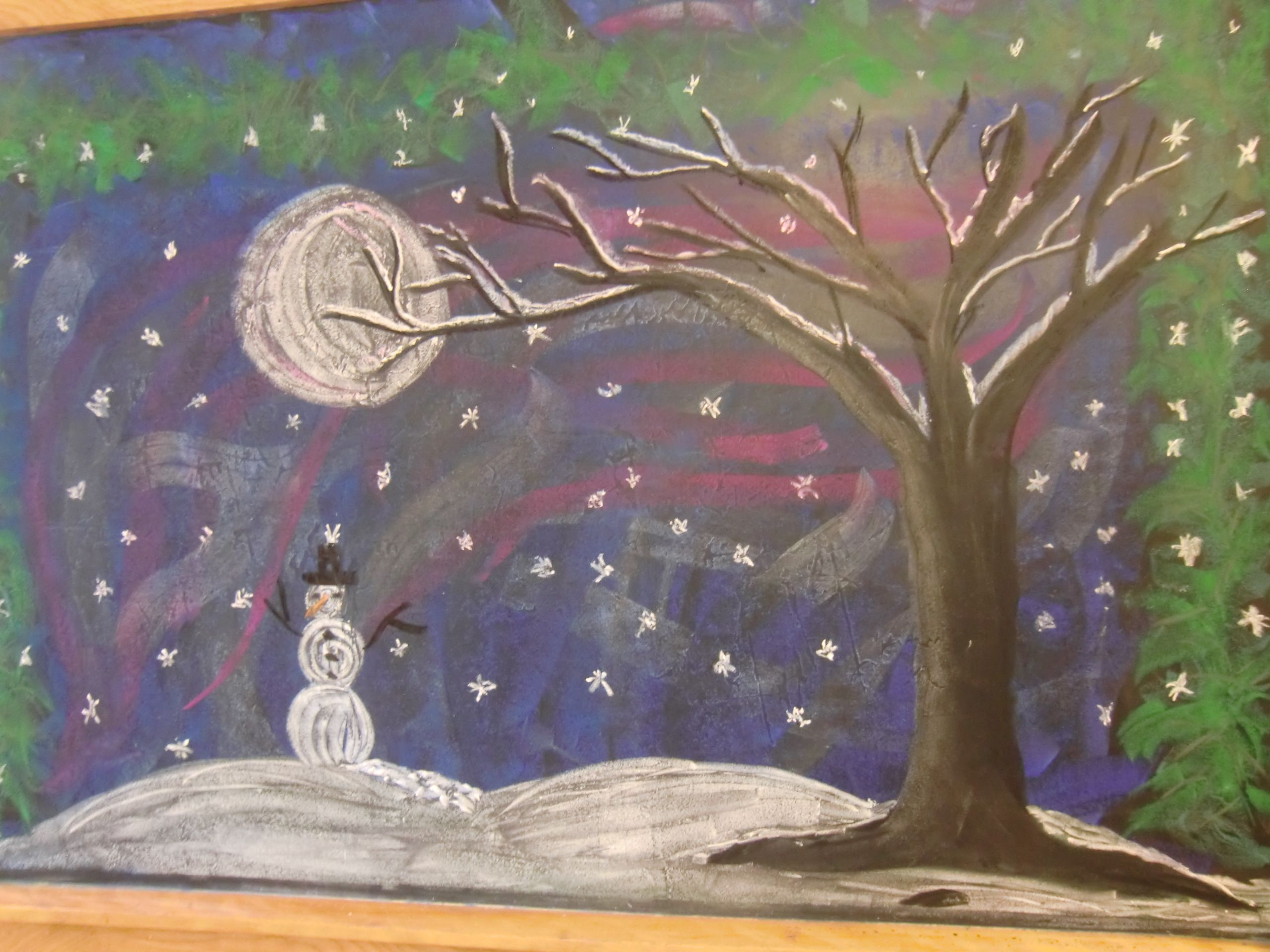 From Highland Hall Waldorf School- a little doodle for the Winter Faire