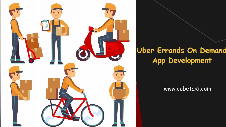 Uber for Errands On Demand App Development Solution in