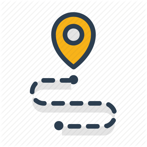 Aami Flat Map Pins And Navigation By Laura Reen Art Logo Location Icon Clever Logo Design