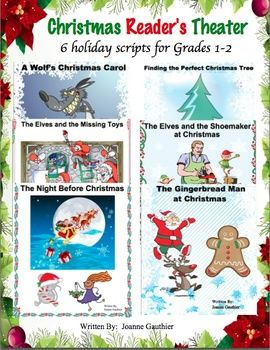 Christmas Plays Readers Theater For Grades 1 And 2 Christmas