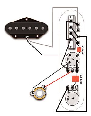 The Eldred Esquire Wiring Guitar Diy Eldred Guitar Tech