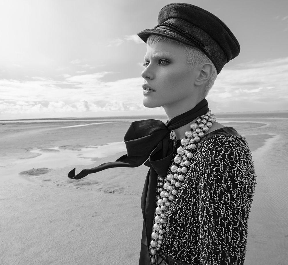 Vogue Russia October 2016 Kris Gottschalk by Andreas Ortner