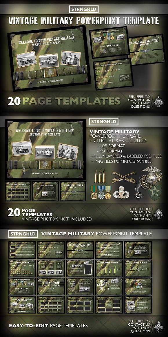 Vintage military powerpoint template powerpoint templates 1000 vintage military powerpoint template powerpoint templates 1000 toneelgroepblik Image collections