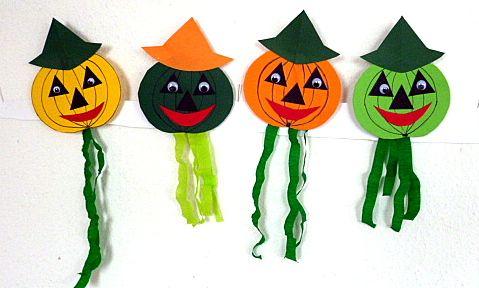 opabilder basteln halloween kuerbis gesichter tonpapier basteln pinterest halloween. Black Bedroom Furniture Sets. Home Design Ideas