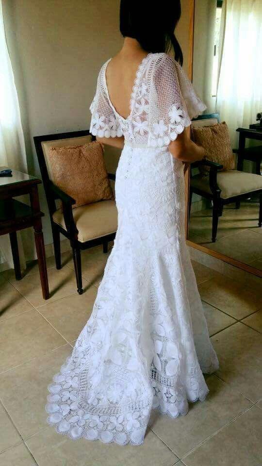 vestido de Ñanduti | vestidos en 2019 | pinterest | vestidos de