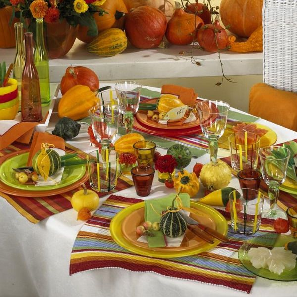 Thanksgiving Decorations Ideas Table Settings Part - 15: Thanksgiving+Decorating+Ideas | ... Table For Kids, Check Out These