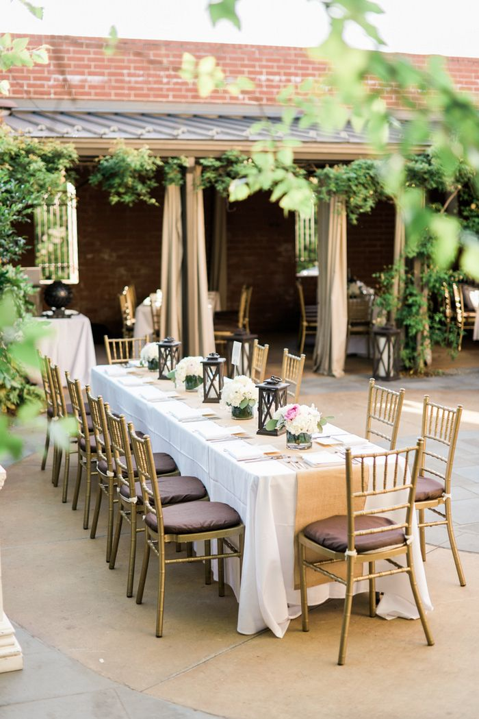This Chapel Hill Nc Wedding Was The Perfect Setting For A Garden Ceremony In Quaint Little Courtyard