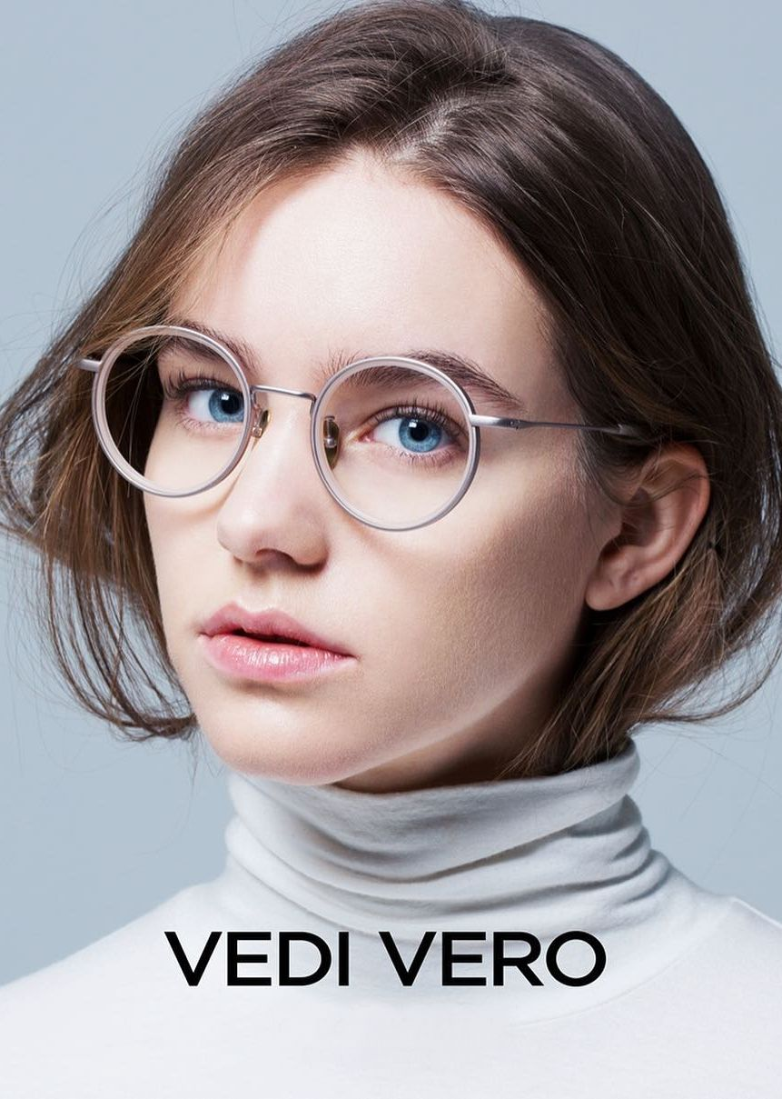 f2e567fc75c Round metal eyewear by Vedi Vero
