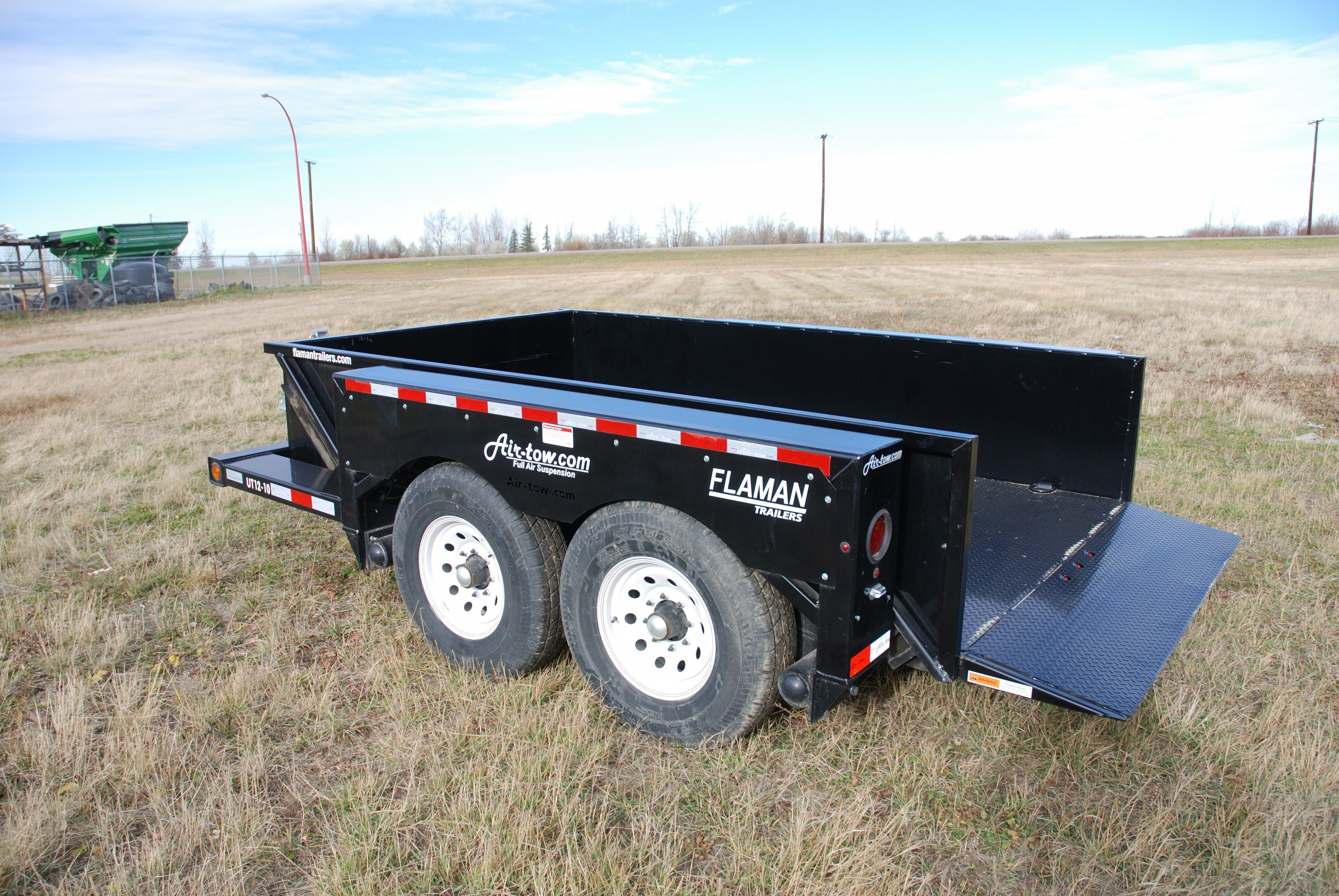 Ground Level Loading Flatbed Trailer Flatbed Trailer How To