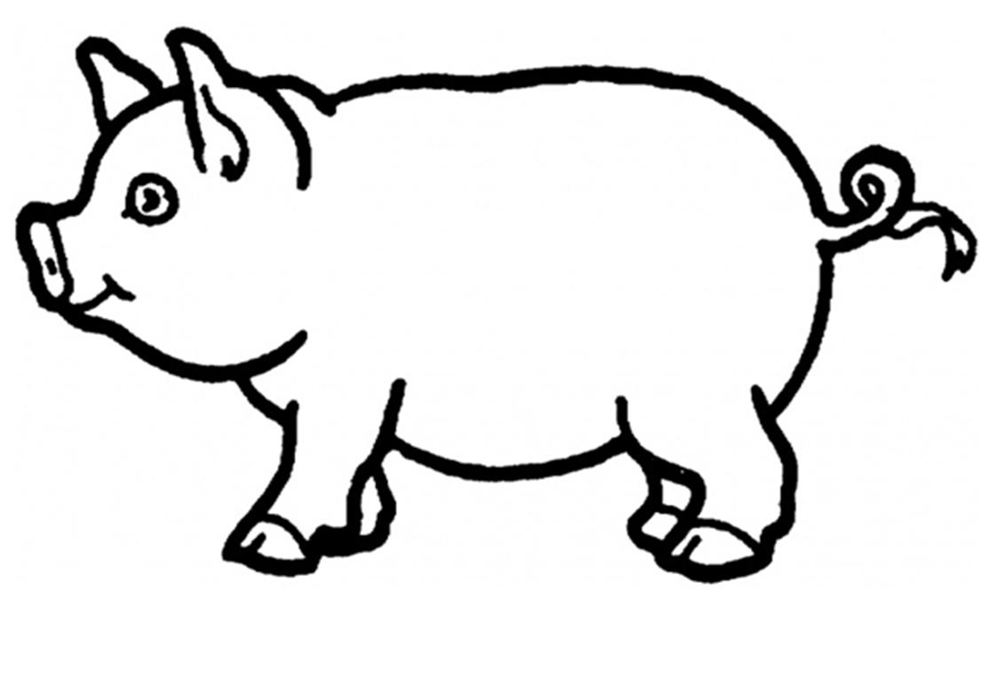 Pin De Lucia Lucia En Worksheets Paginas Para Colorear De Animales Cerdo Para Colorear Granja Dibujo