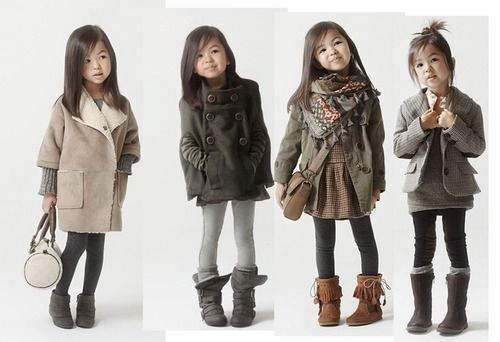If I have a little girl, she is going to be this stylish!