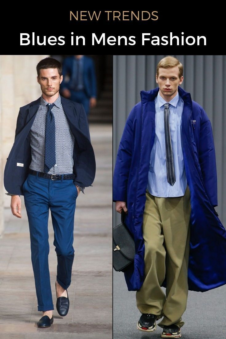 Royal Blue vs Navy Blue: How to Wear Blue | Mens office ...