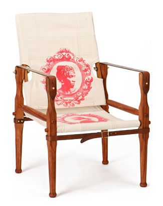 Bon African Roorkhee Or Campaign Chair. My Grandfather Used To Make Chairs Like  This: They Come Apart For Easy Carrying.