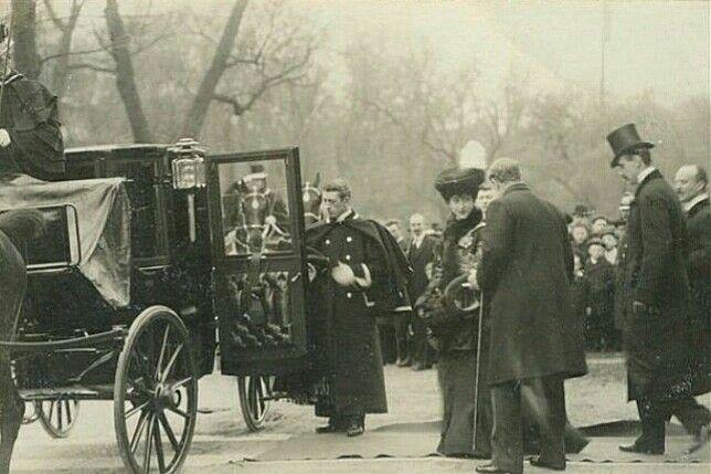 Kong Haakon VII ved Kroningsreisen 1906