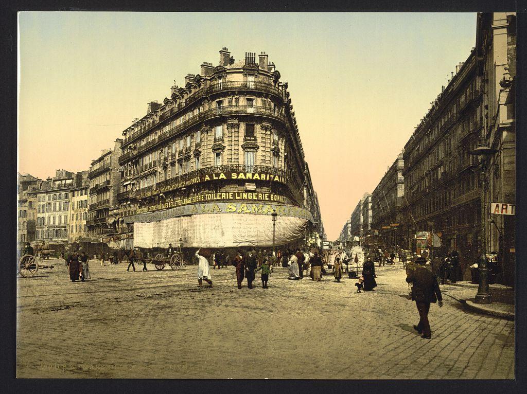 фото старых районов парижа