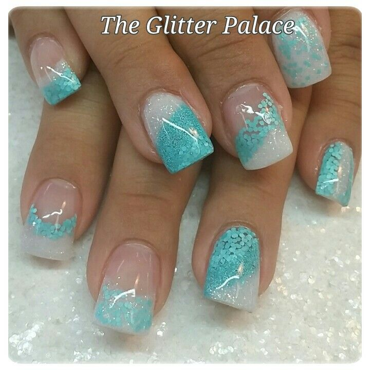 Like the different designs on each nail