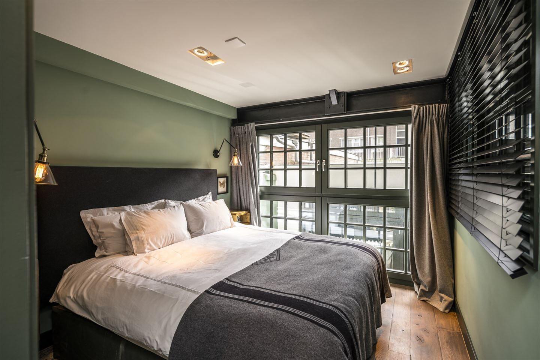Slaapkamer Ideeen Mannen : Industrieel slaapkamer in een droomhuis voor mannen. design