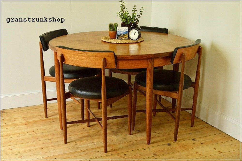 Vintage Dining Chair Chairs Teak G Plan Set Of 4 Danish Design Mid Century By Granstrunk