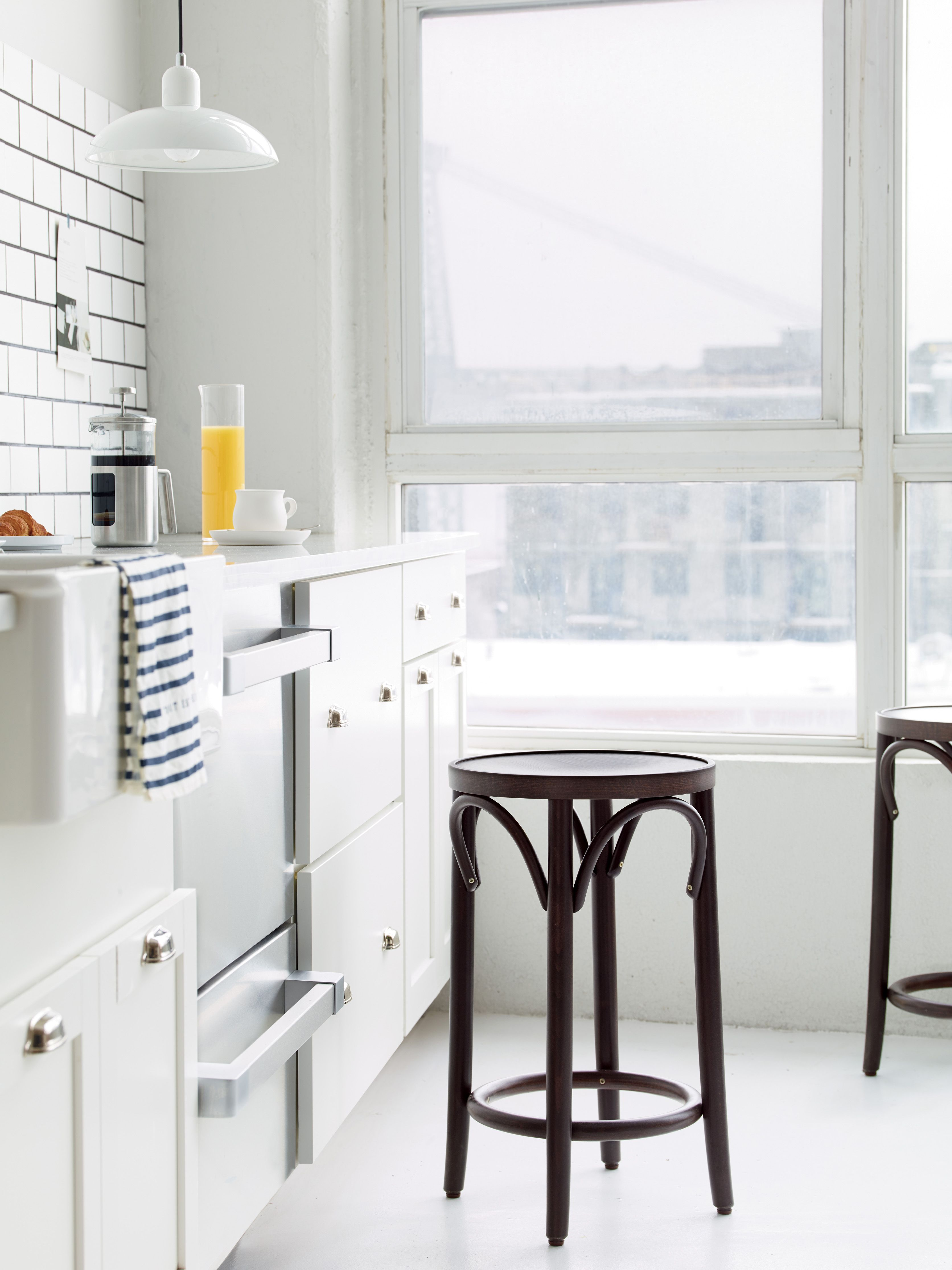 Era Backless Counter Stool | Stools, Spaces and Kitchens