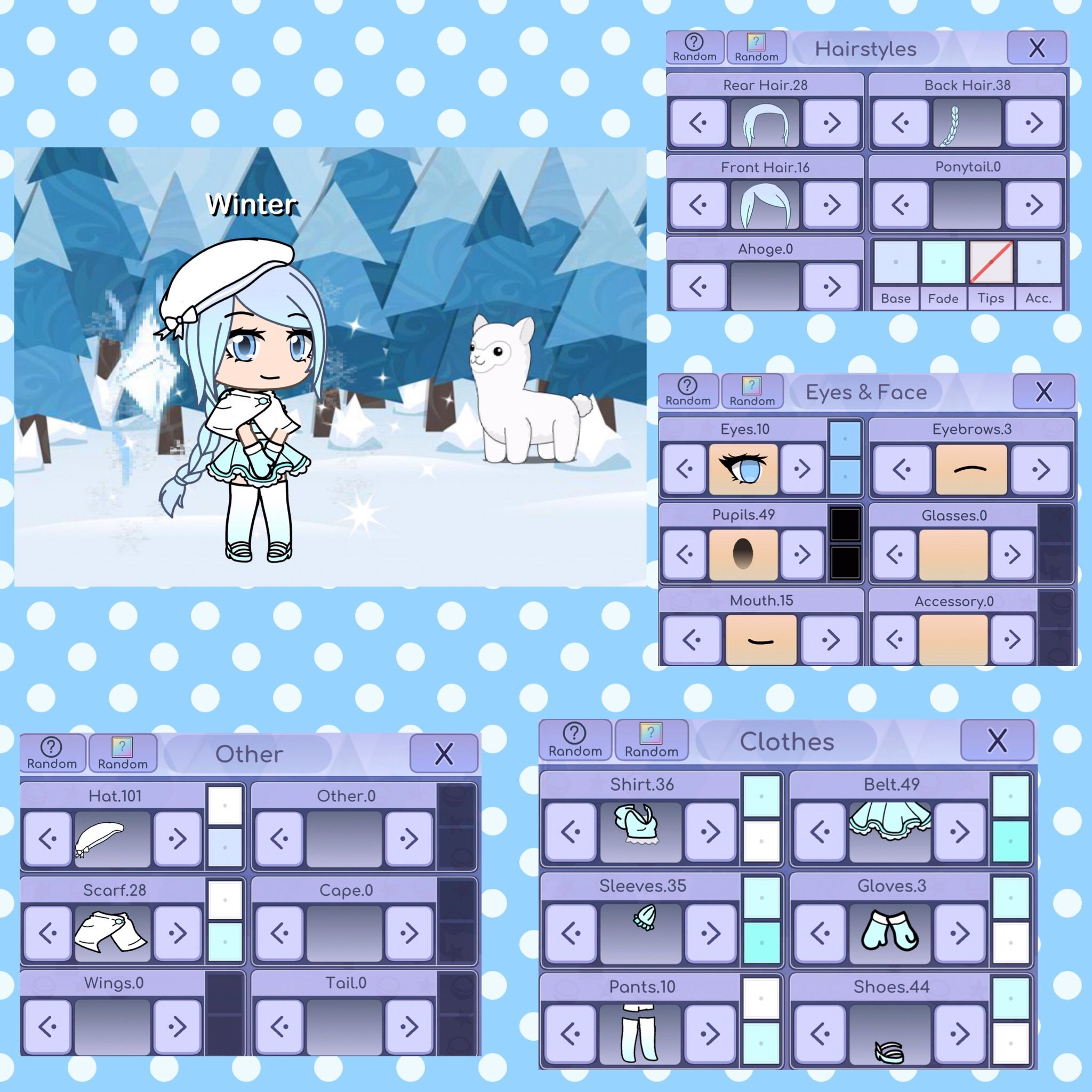 Winter Princess of Winter😂 Anime outfits, Winter outfits