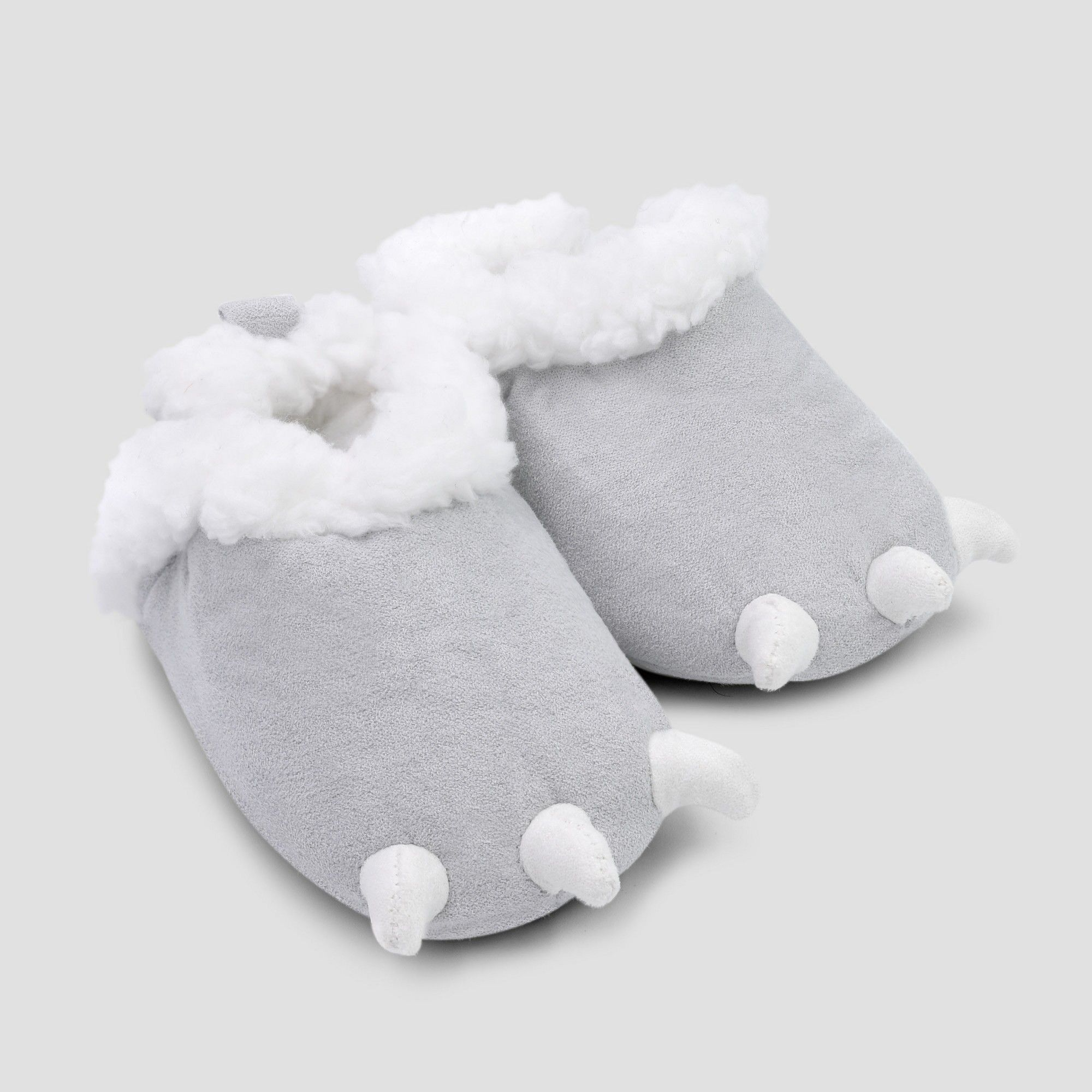 77dc2ac14123 Baby Boys  Claw Slipper - Just One You made by carter s Gray 3-6M ...