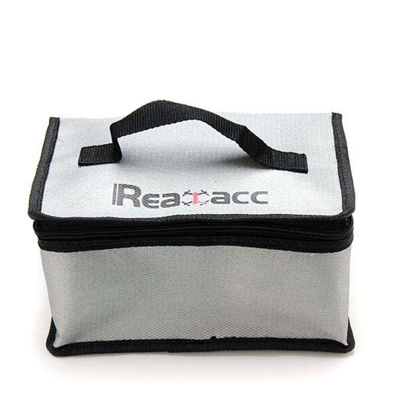 Neue Ankunft Feuerfeste RC LiPo Batterie Sicherheit Bag Safe Guard Realacc Feuerhemmende Lipo Batterie Tasche 220x155x115mm Mit Griff
