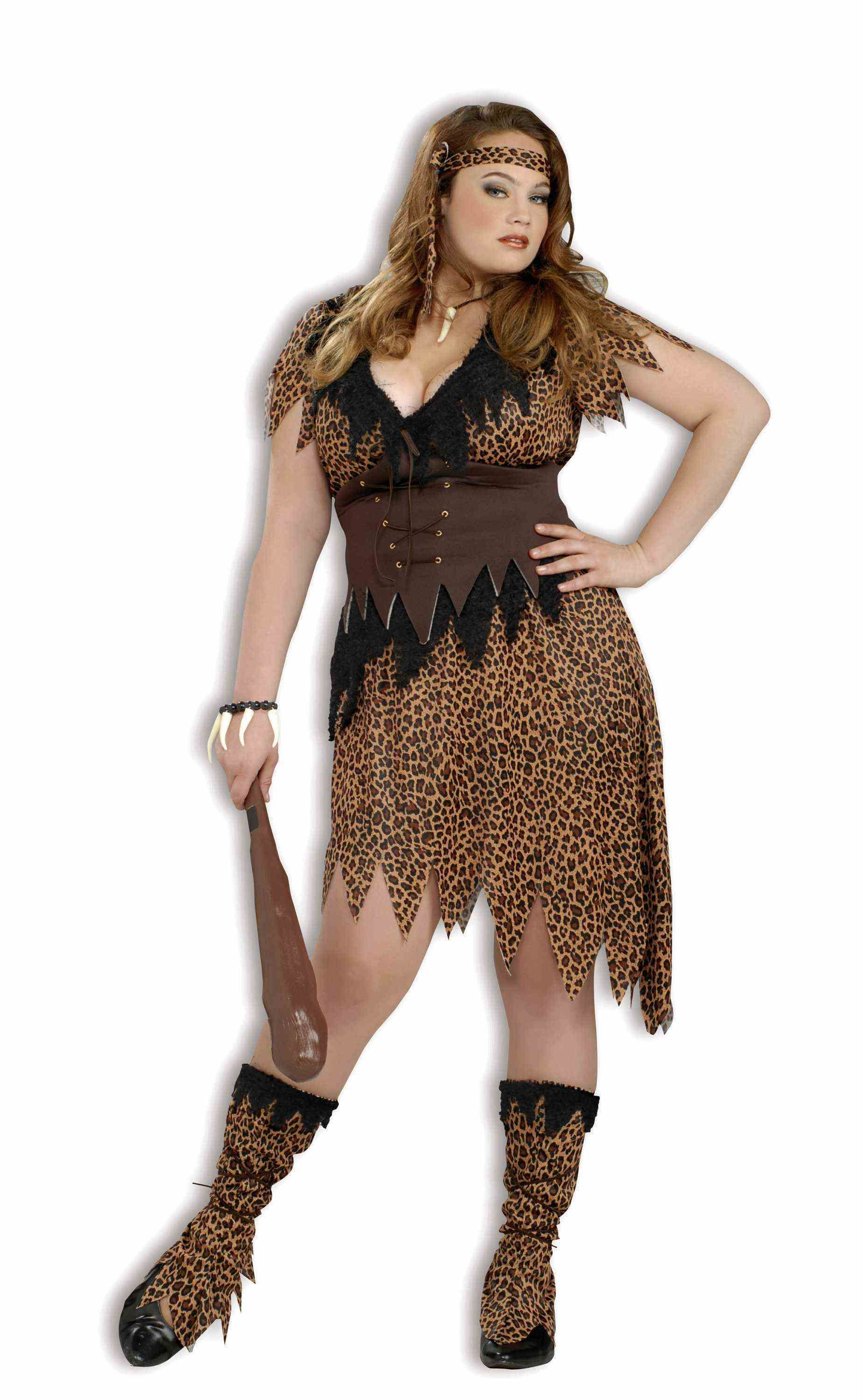 Cave Beauty Cavewoman Plus Costume Calgary, Alberta