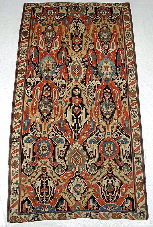 Carpet Object Name Carpet Date 19th Century Geography Caucasus Medium Silk Wool Dimensions Rug L 128 In 325 1 Cm Rugs Rugs On Carpet Antique Carpets
