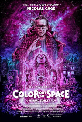 October Horror Movie Challenge Color Out Of Space 2019 Color Out Of Space Space Movie Posters Nicolas Cage