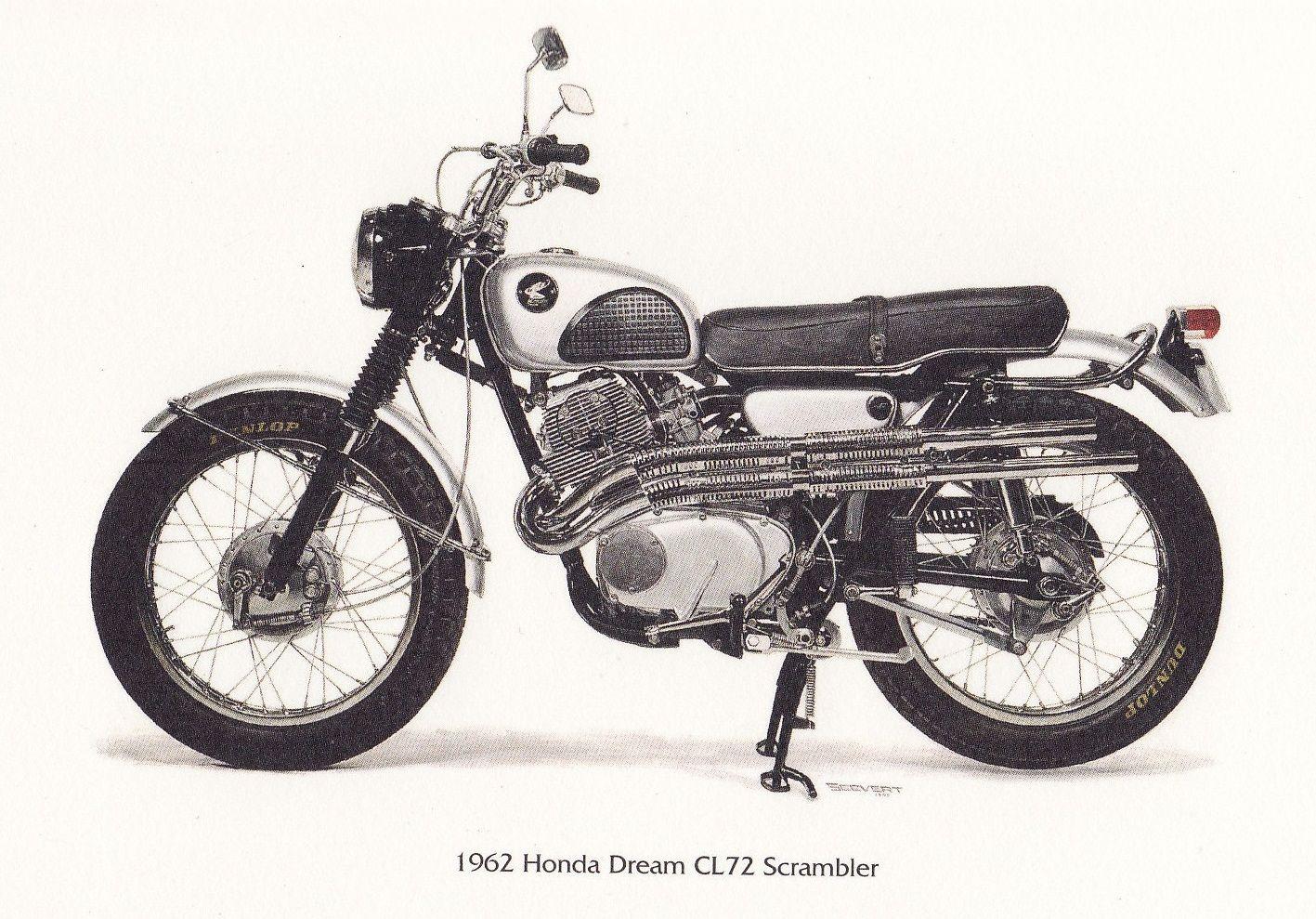 250 Scrambler Vintage Honda Motorcycles Pinterest