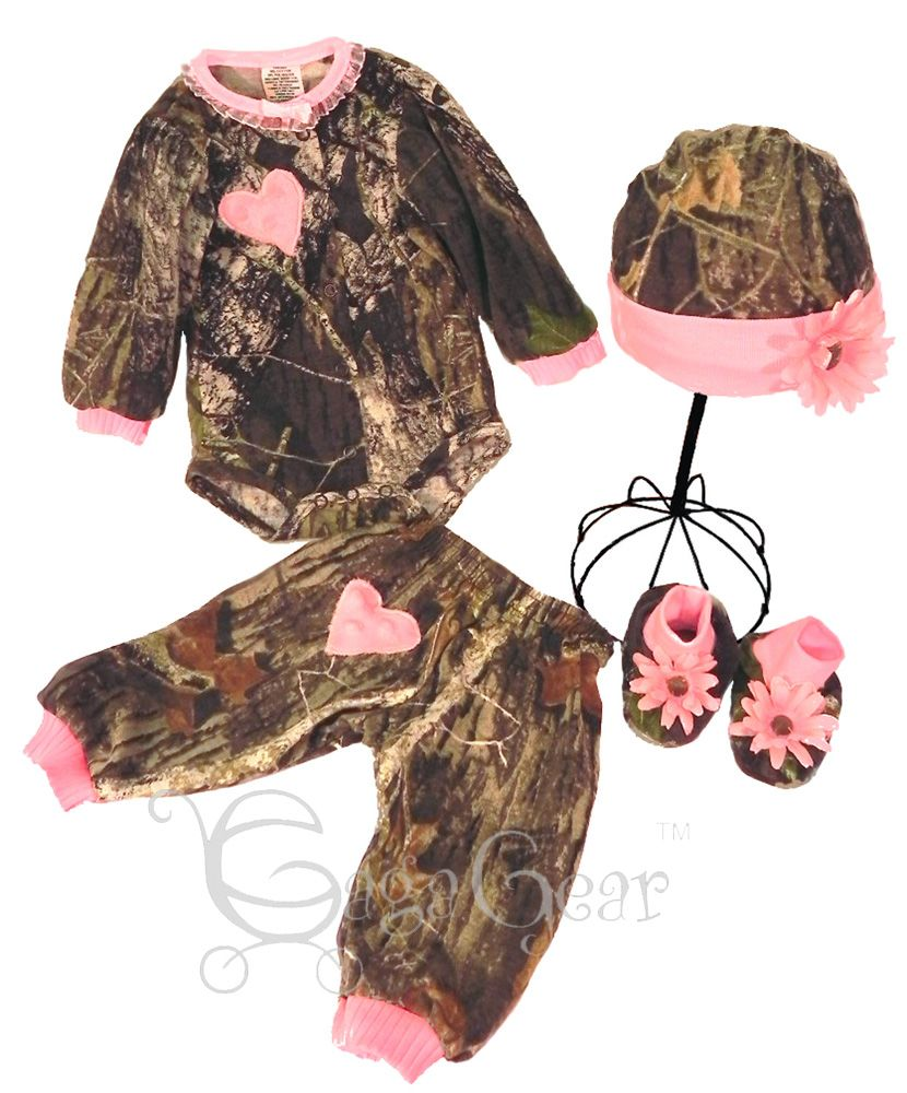 Baby Girl Camo Clothes Baby Girl Camo Clothing  Pink Aspen Big Dreamzzz Baby Pink