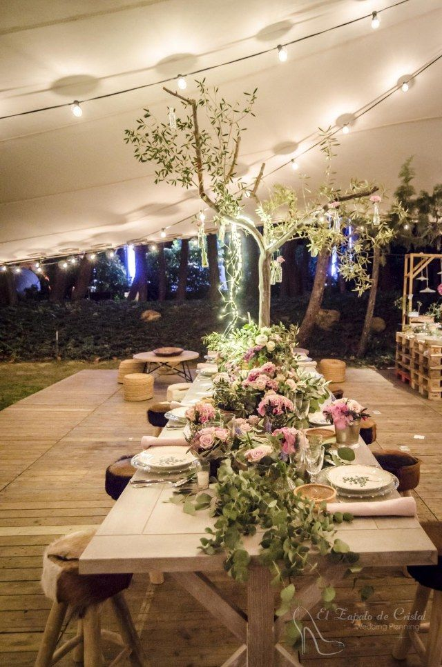 Decoraci n para bodas espectaculares naranjas de la - Decoracion con hortensias ...
