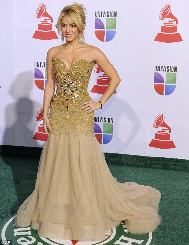 Shakira in Amato Couture | Celebrities in Amato | Pinterest ...