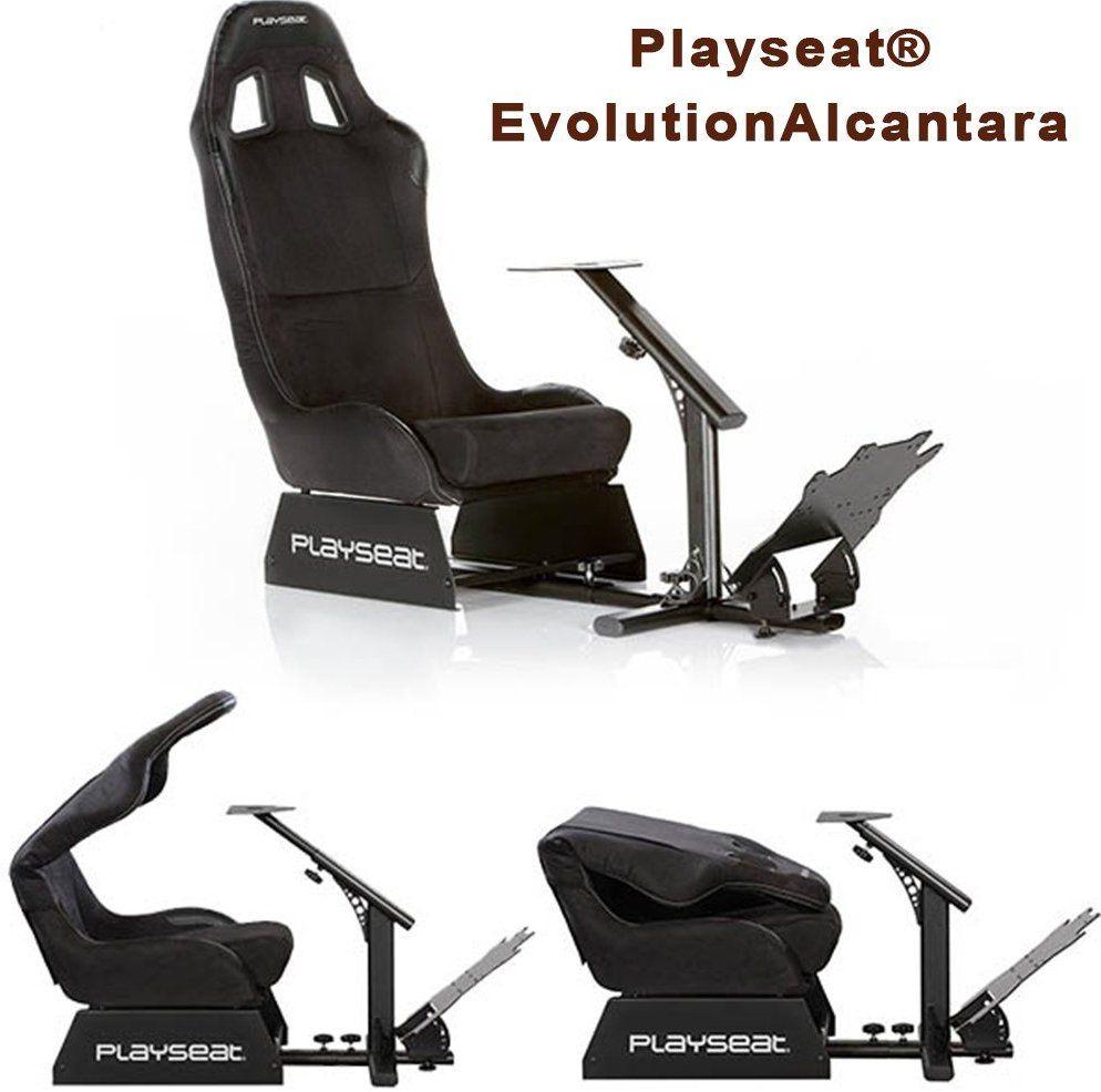 Amazon com: Playseat Evolution Alcantara Gaming Seat: Video